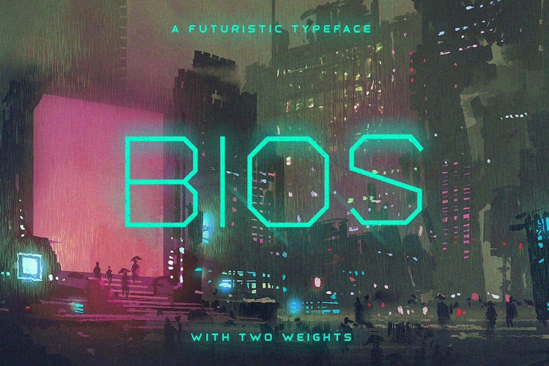 Bios-Typeface