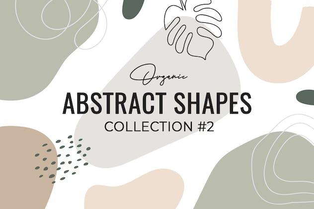 Organic Abstract shapes #2