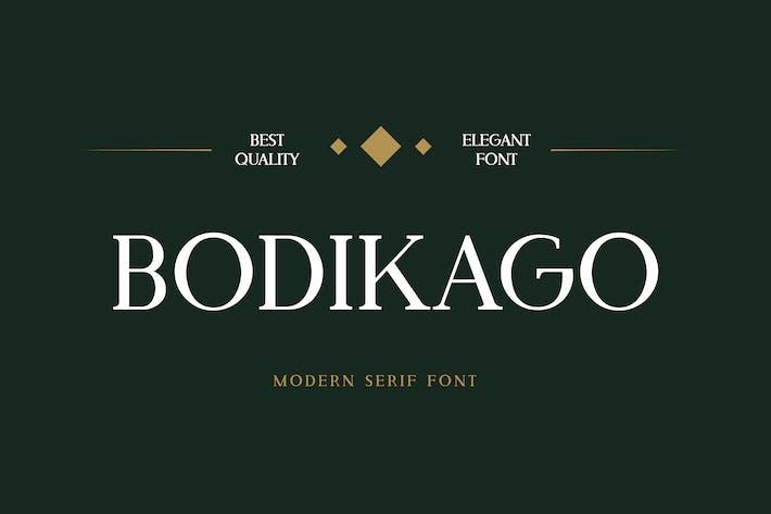 Bodikago Luxury Con serifa Fuente
