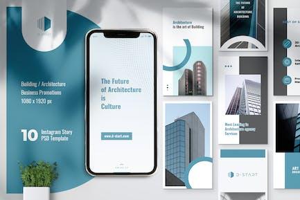 THE START Architecture Instagram Stories