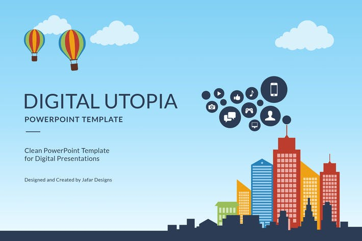 Digital utopia powerpoint template by jafardesigns on envato elements cover image for digital utopia powerpoint template toneelgroepblik Choice Image
