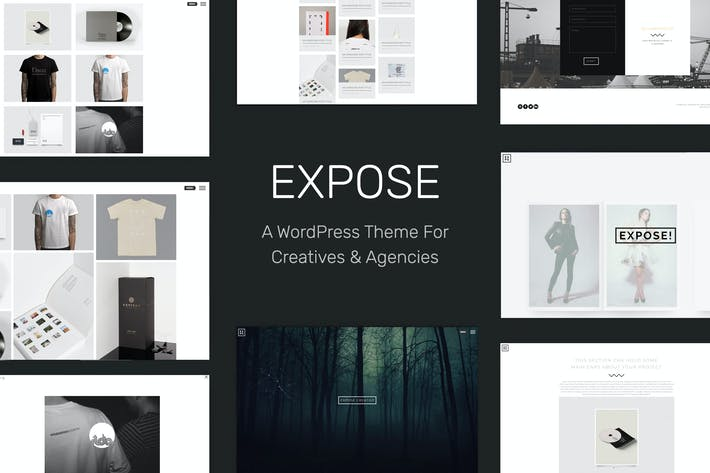 Thumbnail for EXPOSE - Creatives & Agency WordPress Theme