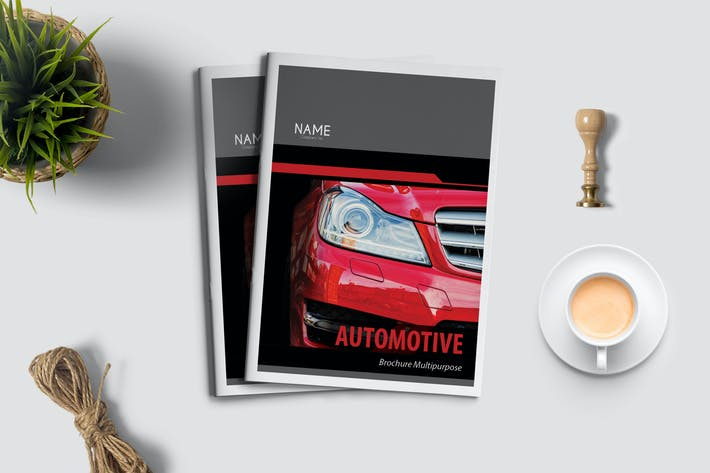 Thumbnail for Automotive - Brochure Template