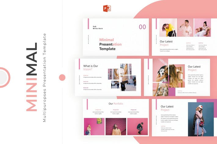 Minimal Powerpoint Template By Slidefactory On Envato Elements