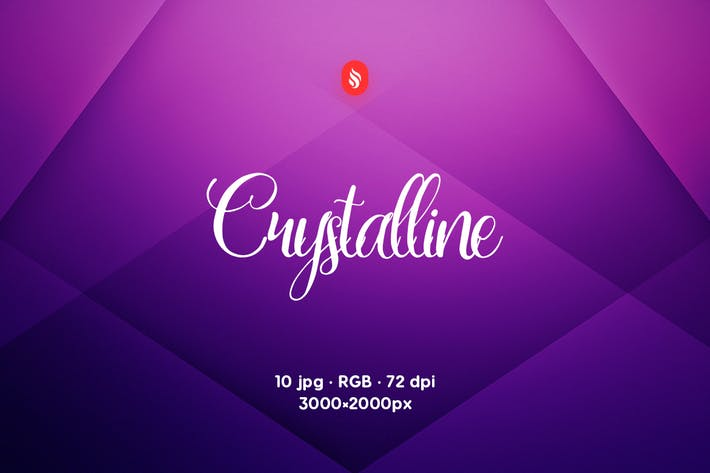 Cover Image For Crystalline Backgrounds