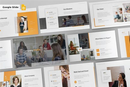 COMPANY PROFILE - Google Slide Template V178