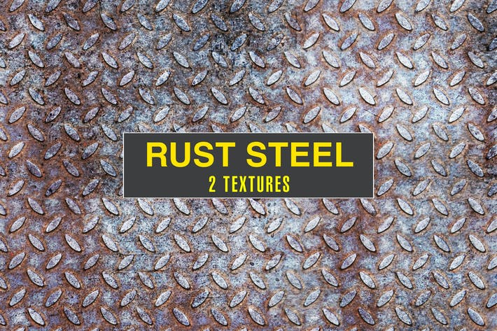 Cover Image For Rusted Steel Textures