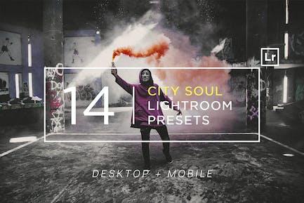 14 City Soul Lightroom Presets + Mobile