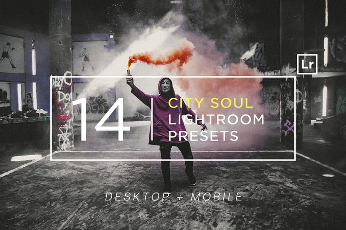 Thumbnail for 14 City Soul Lightroom Presets + Mobile