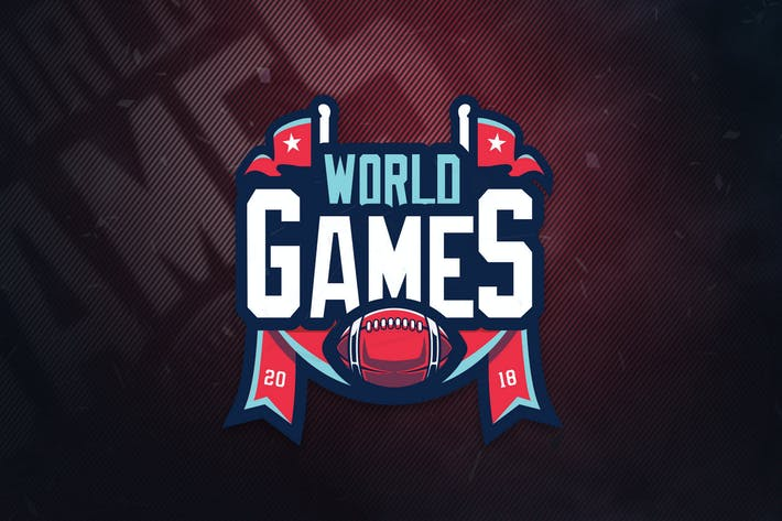 Thumbnail for Worlds Games Sports Logo