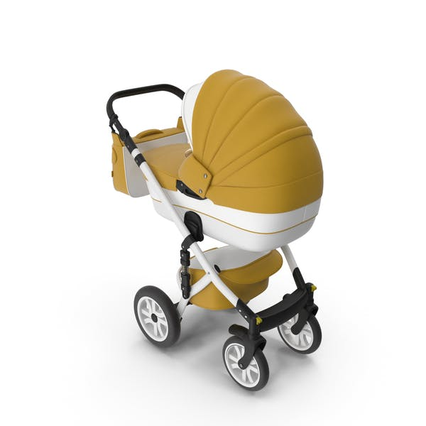 Thumbnail for Baby Stroller Yellow