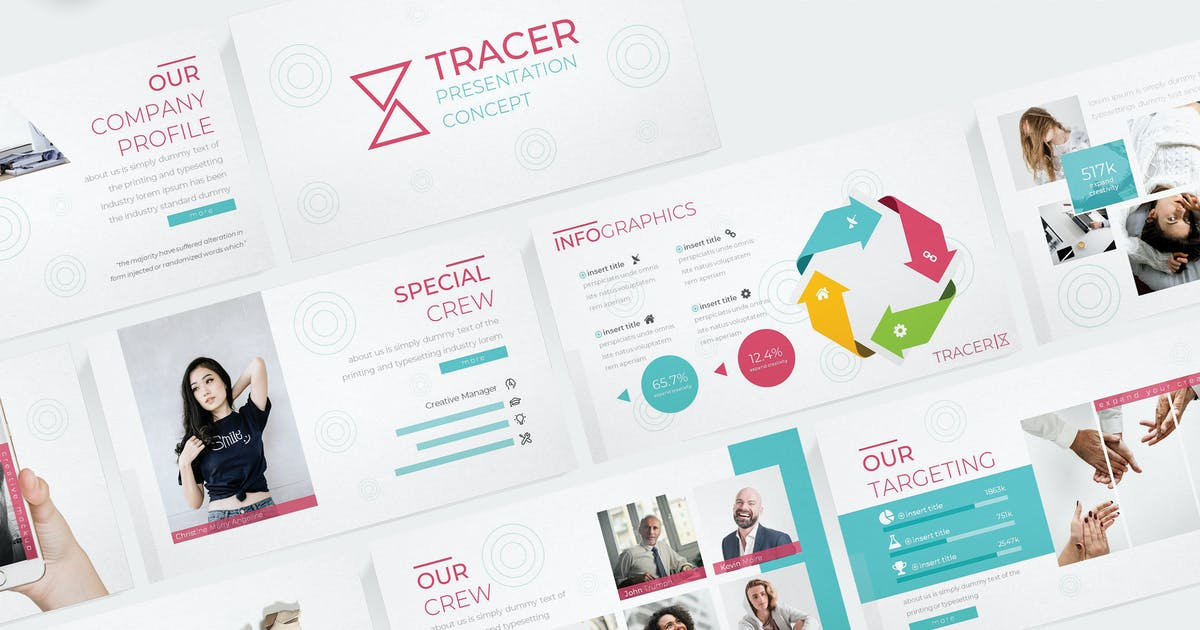 Download Tracer - Powerpoint Template by aqrstudio