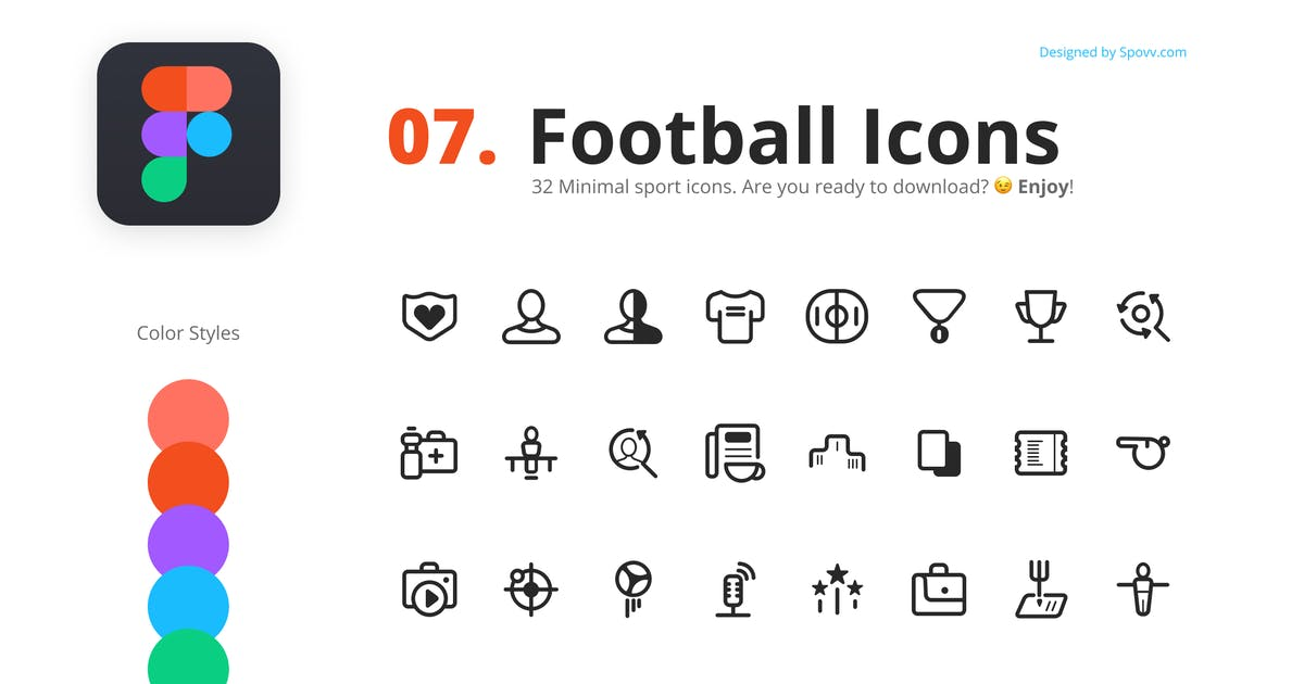 Download 32 Football Icons by spovv