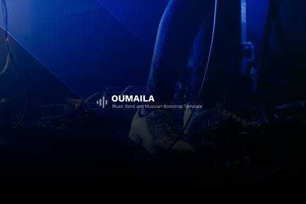 Oumaila - Music Band and Musician Template