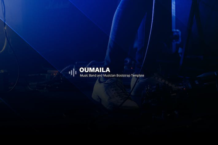 Thumbnail for Oumaila - Music Band and Musician Template