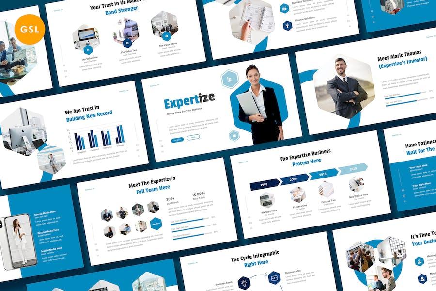Expertize - Business Google Slide Template