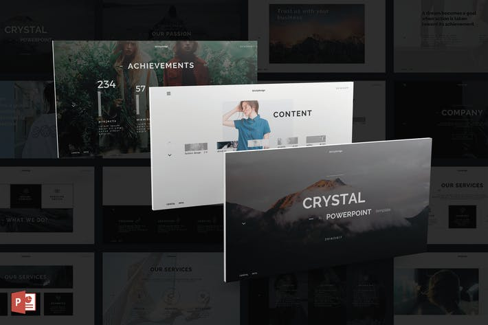 Thumbnail for Crystal PowerPoint Template