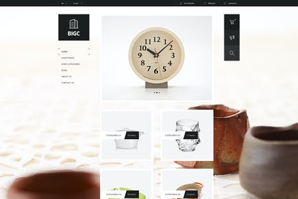 Big Shop - Responsive HTML Vorlage