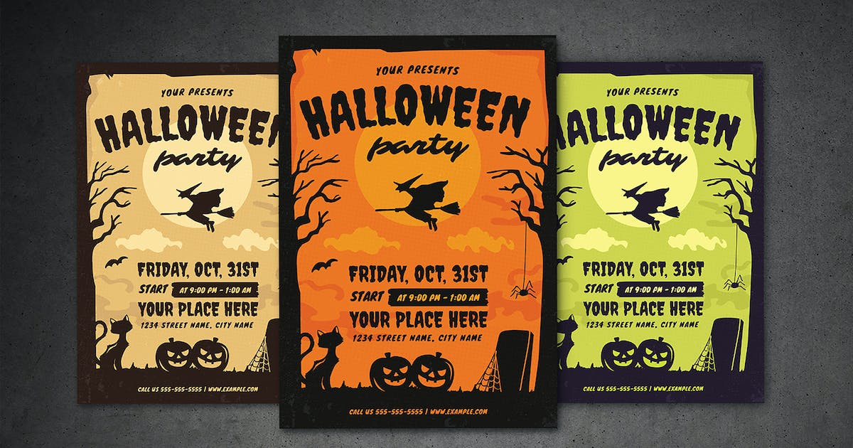 Download Halloween Party Flyer by vynetta