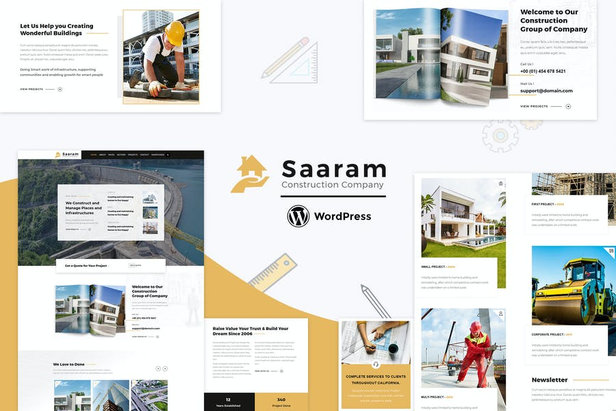 Saaram - Architect Theme