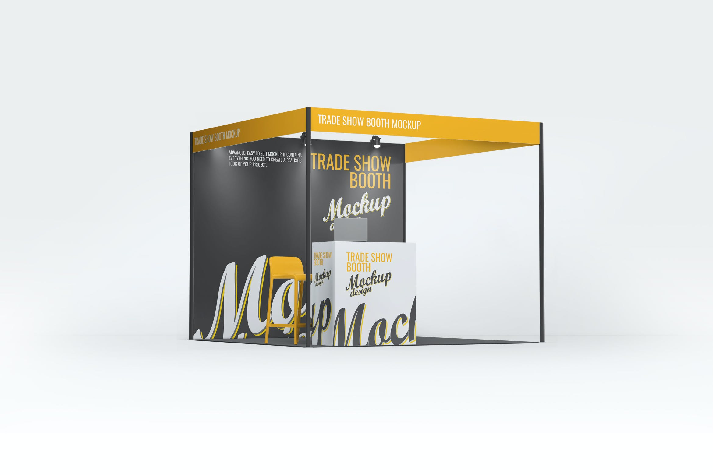 Trade Show Booth Mock Up By L5design On Envato Elements