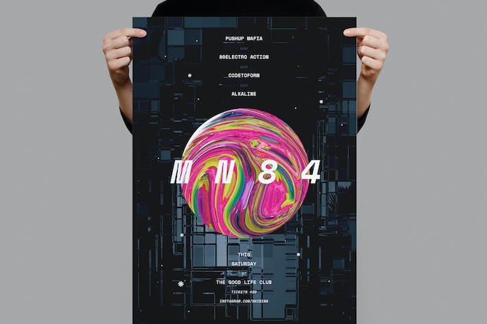 Thumbnail for MN84 Poster / Flyer