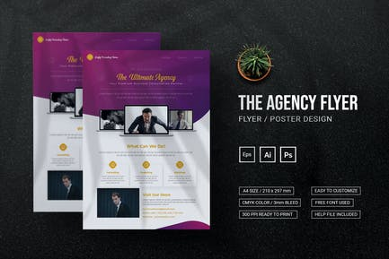 Ultimate Agency - Flyer