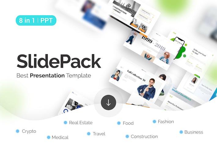 Thumbnail for SlidePack Multipurpose PowerPoint Presentation