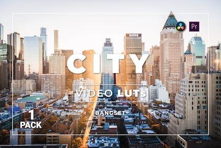 Бангсет Сити Pack 1 Видео LUTs
