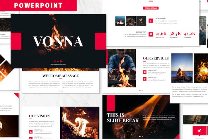 Thumbnail for Vonna - Business Powerpoint Template