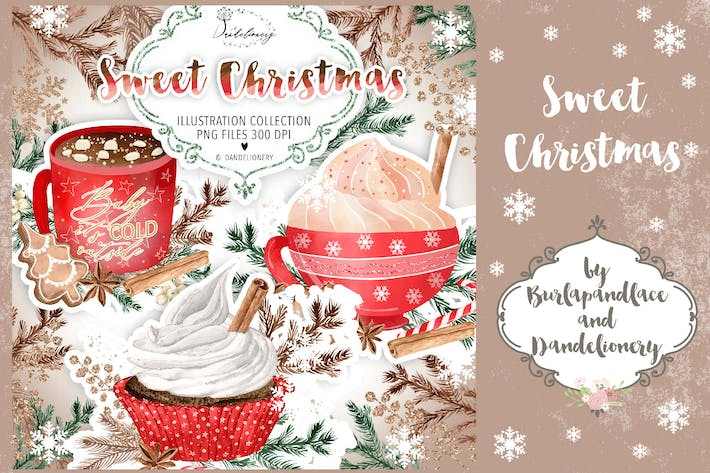 Thumbnail for Sweet Christmas Clipart