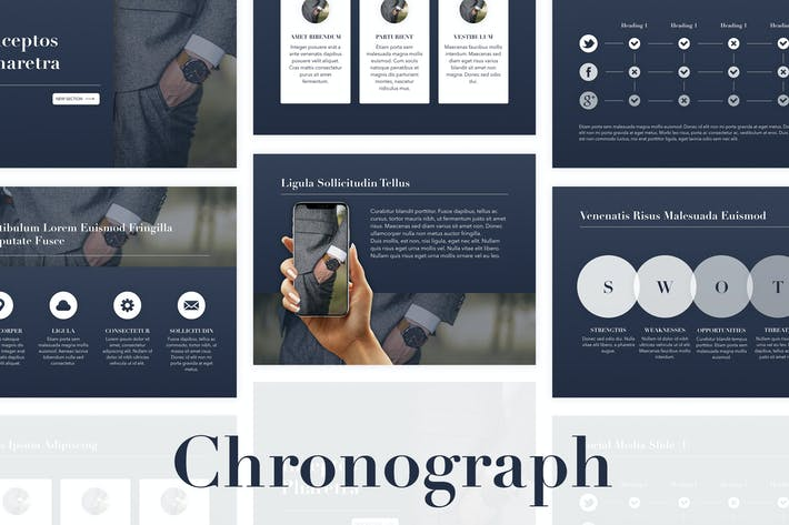 Thumbnail for Chronograph PowerPoint Template