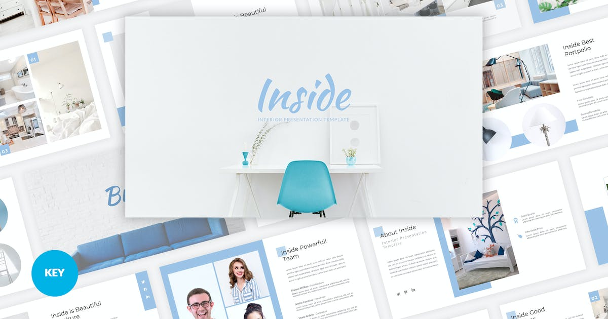Download Inside - Interior Keynote Template by Graphiqa