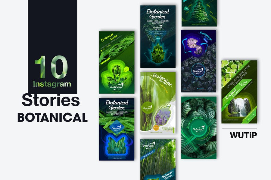 10 Instagram Stories - Botanical