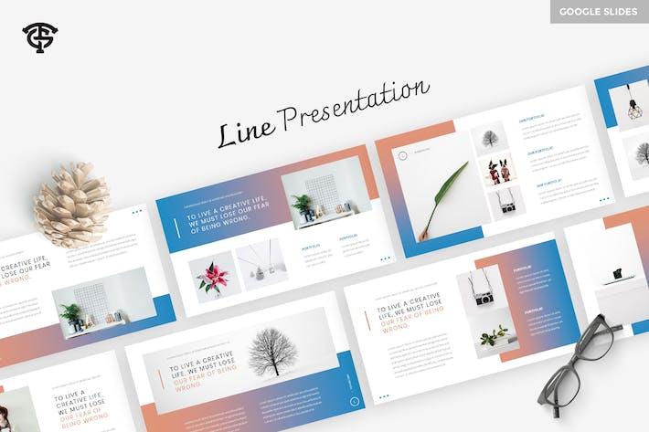 Thumbnail for Line - Google Slides