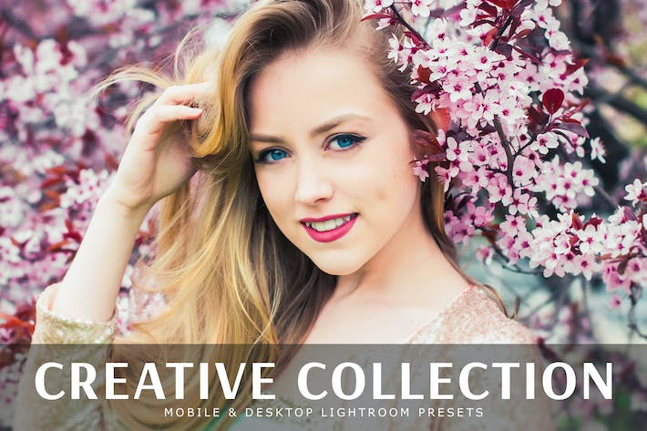 Cover Image For Creative Collection Mobile & Desktop Presets