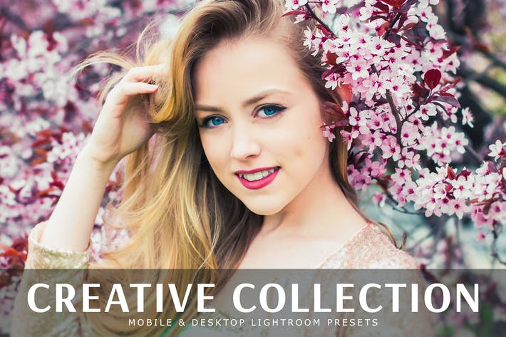 Thumbnail for Creative Collection Mobile & Desktop Presets