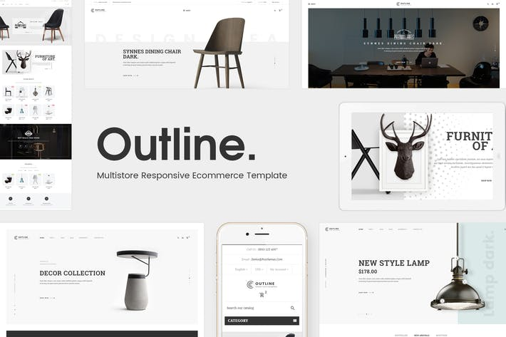 Thumbnail for Outline - Responsive Furniture Magento Theme