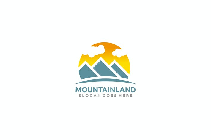 Thumbnail for Mountains Landscape Logo