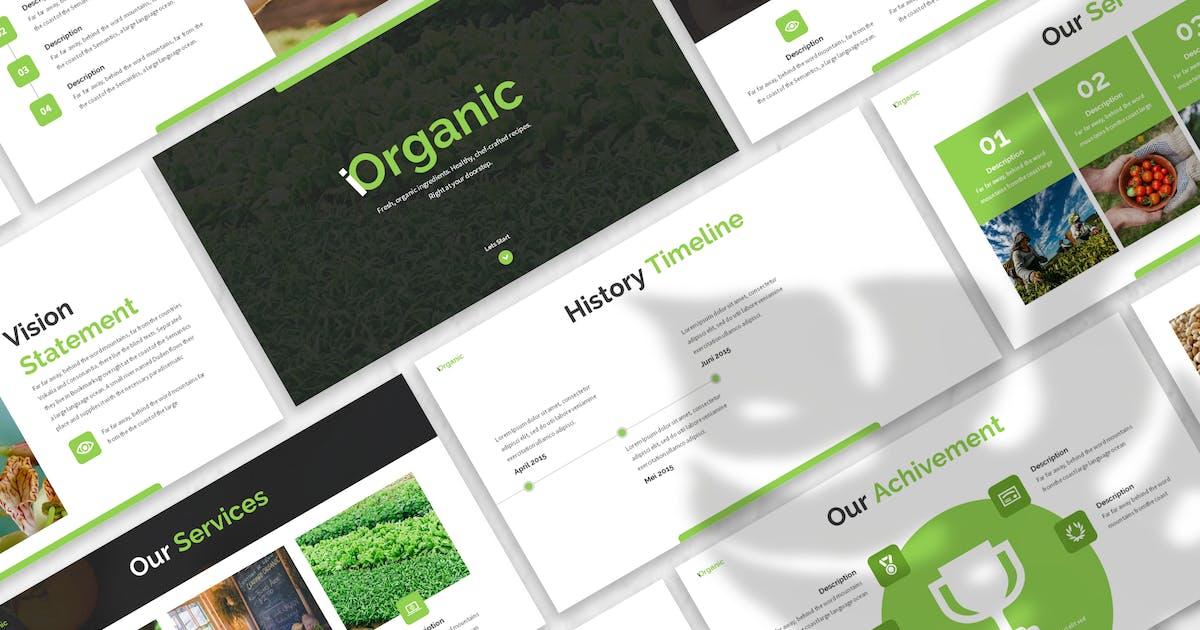 Download iOrganic - Vegan Keynote Template by designesto
