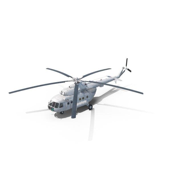Ми-8 Hip Средний транспортный вертолет Организации Объединенных Наций