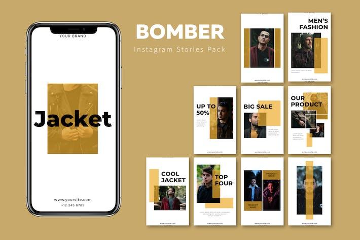 Thumbnail for Bomber - Instagram Story Pack