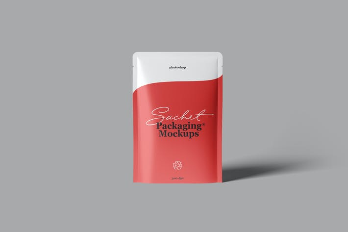 Thumbnail for Sachet Packaging Mockups