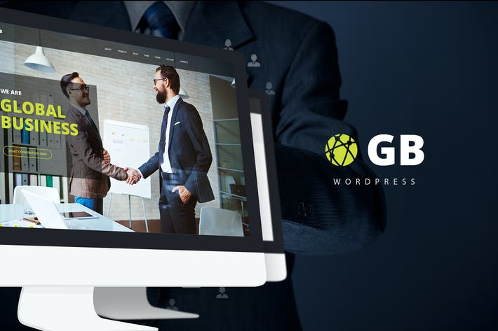 Thumbnail for GB - Multipurpose Global Business WordPress Theme