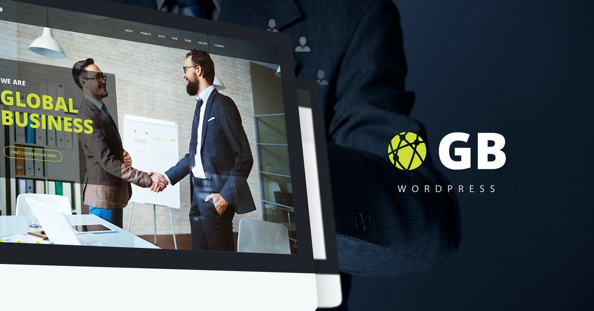 Download GB - Multipurpose Global Business WordPress Theme by torbara