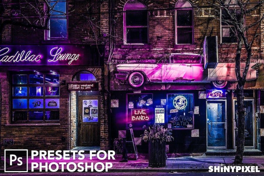 HDR Studio Vol. 2 - 20 Photoshop Presets