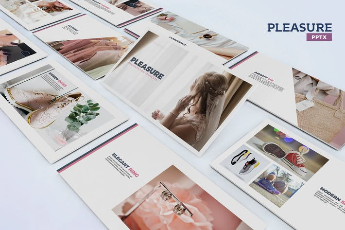 Thumbnail for Pleasure - Powerpoint Template