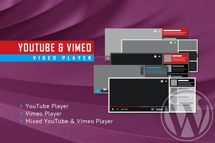Thumbnail for Youtube Vimeo Video Player and Slider WP Plugin