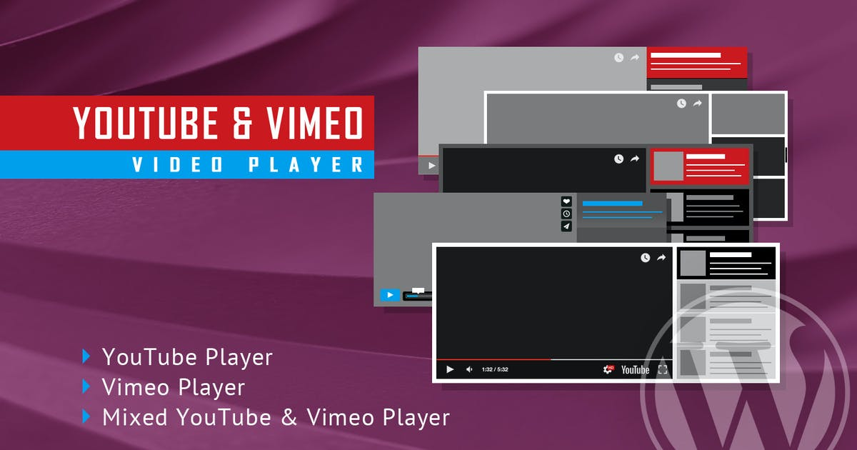 Download Youtube Vimeo Video Player and Slider WP Plugin by LambertGroup