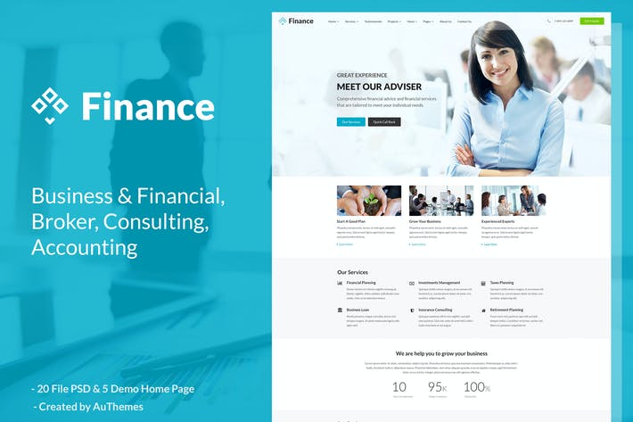 Thumbnail for Finance - Business and Finance Corporate